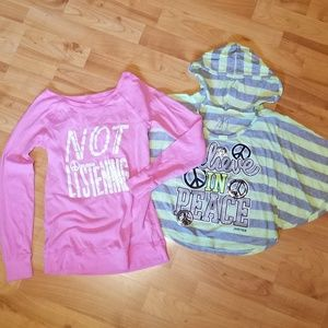 JUSTICE & ae KIDS   shirt bundle